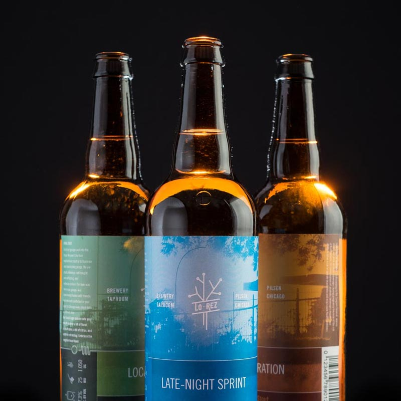 Lo·Rez Brewing Bottles